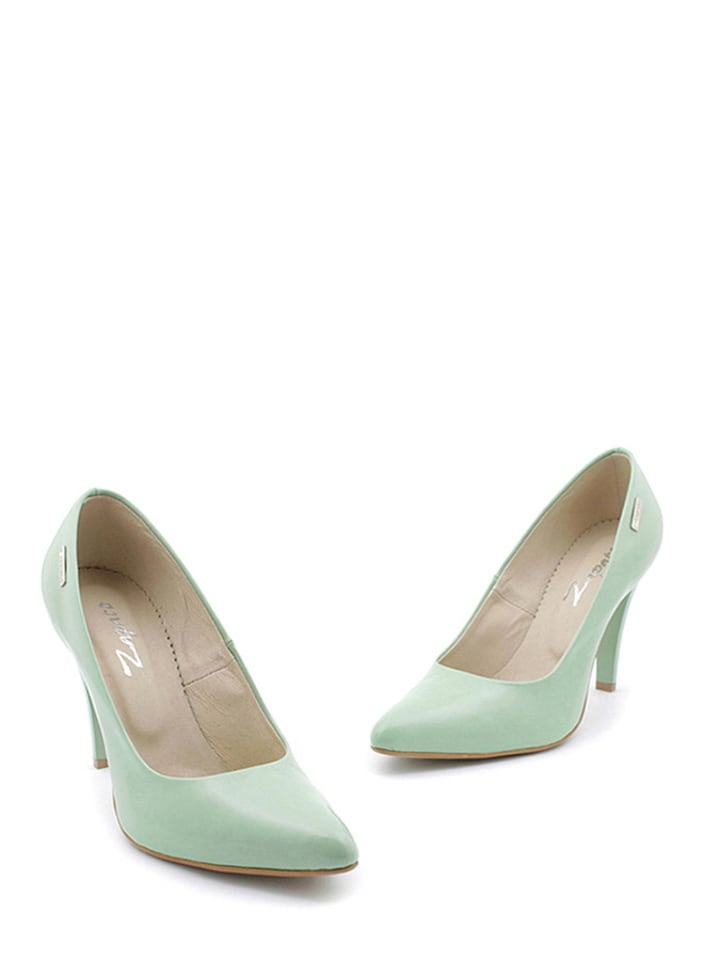 Zapato Leder-Pumps in Mint