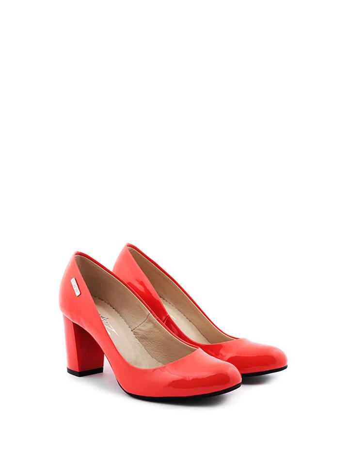 Zapato Leder-Pumps in Rot