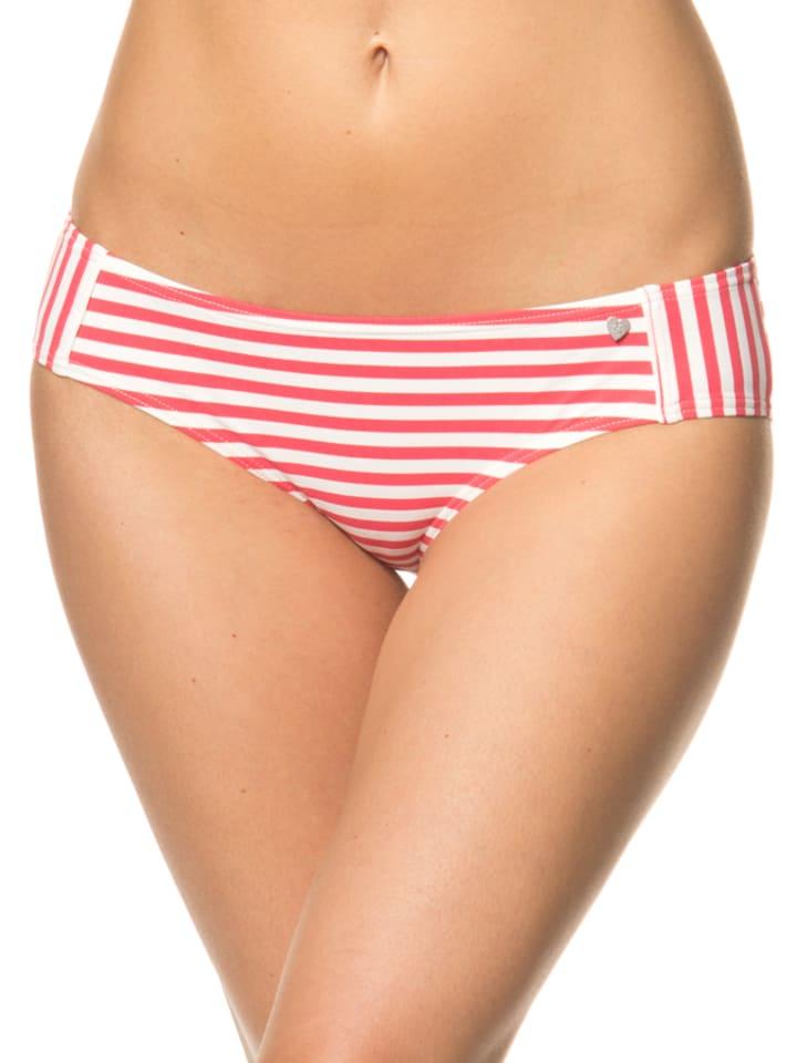 SHORT STORIES Bikini-Slip in Rot/ Weiß