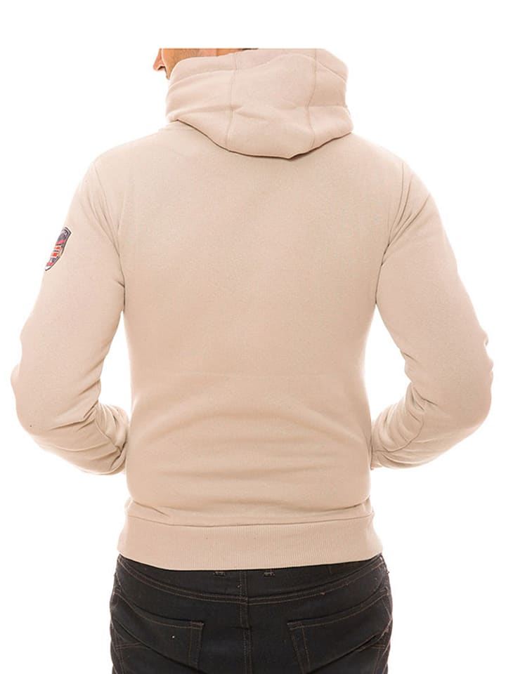 "Geographical Norway Sweatshirt ""Gemeaux"" in Beige"