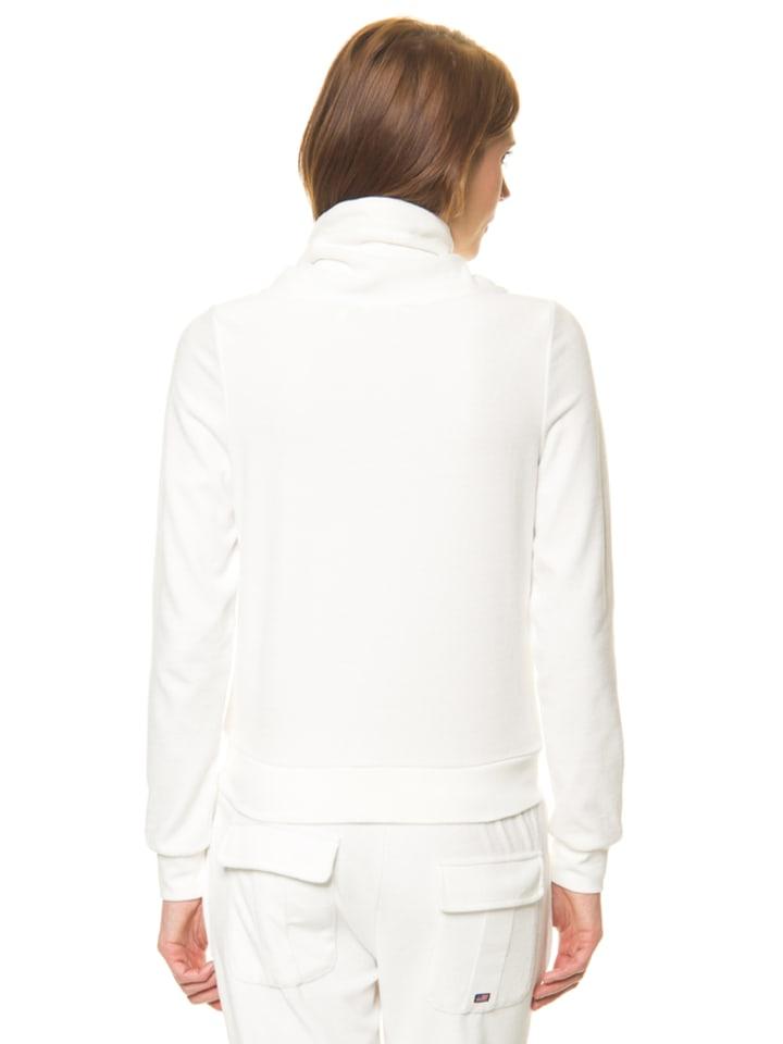 Jockey Sweatjacke in Weiß