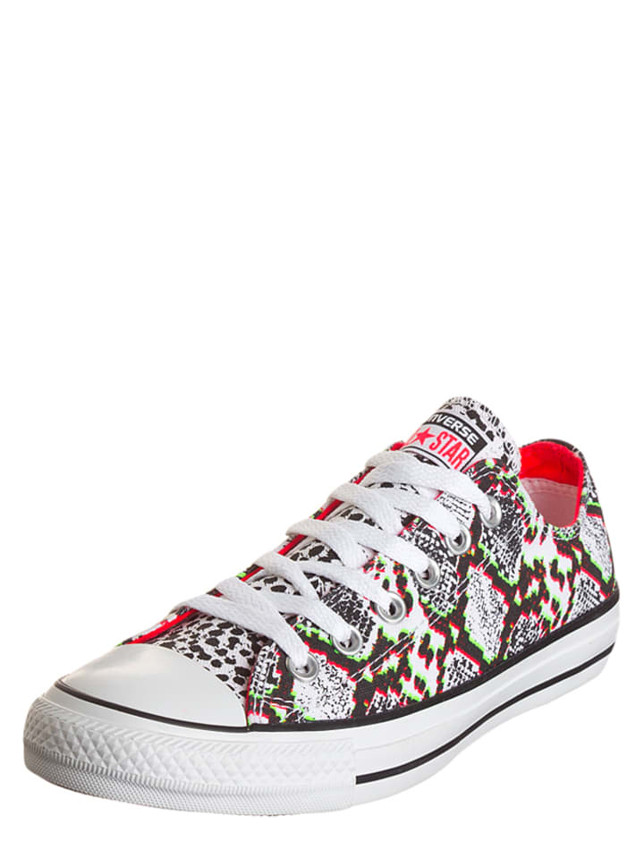 Converse Sneakers in Weiß/ Bunt