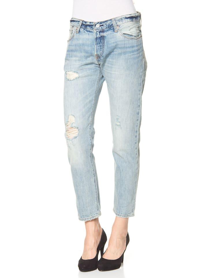 """Levi´s Jeans """"501"""" - Boyfriend fit - in Hellblau"""
