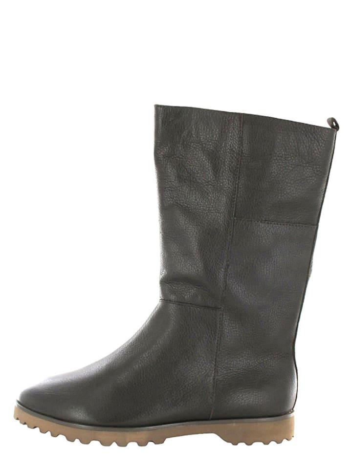 Foreverfolie Stiefel in Schwarz - 63% lpb6DMtE