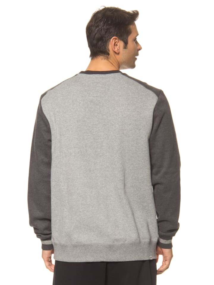 "Puma Sweatshirt ""Athl Crew"" in Grau/ Anthrazit"