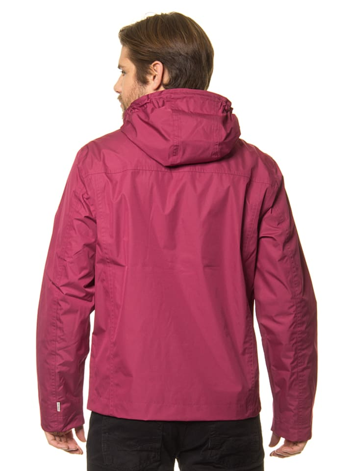 """Timberland Jacke """"HV Mount Clay"""" in Rot"""