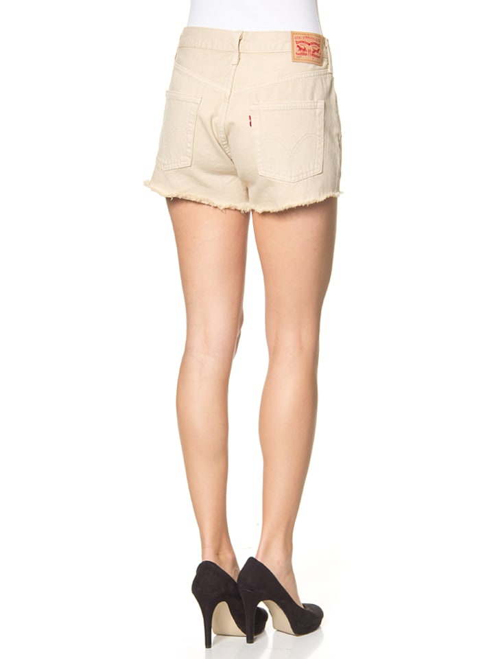 "Levi´s Jeansshorts ""501"" - Regular fit - in Beige"