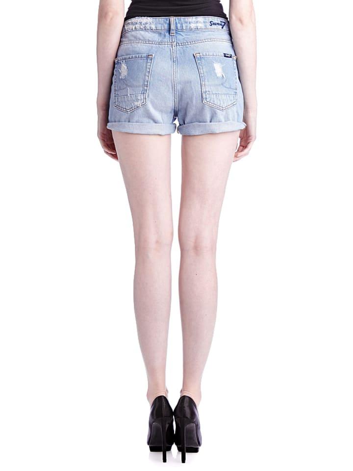 """Seven 7 Jeans-Shorts """"Mimms"""" in Hellblau"""