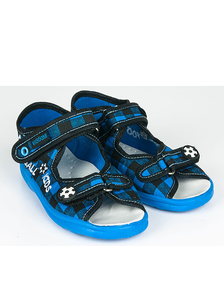 Little Lemon Bear Sandalen in Blau