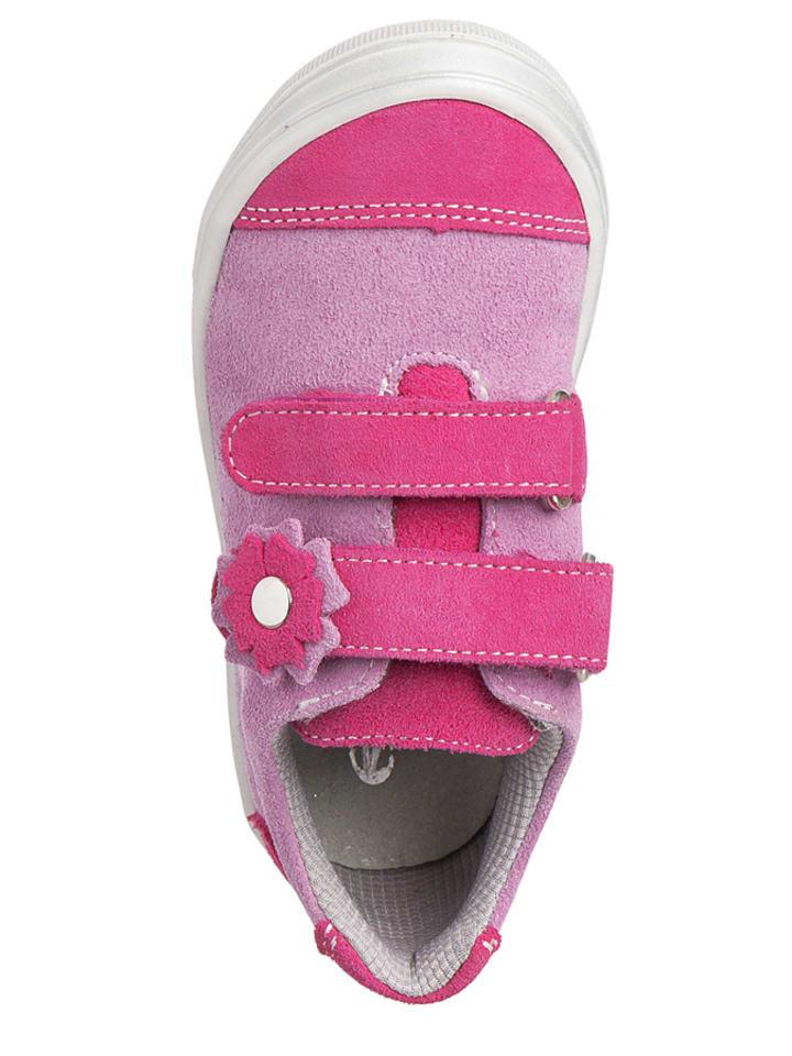 Richter Shoes Leder-Sneakers in Rosa/ Pink