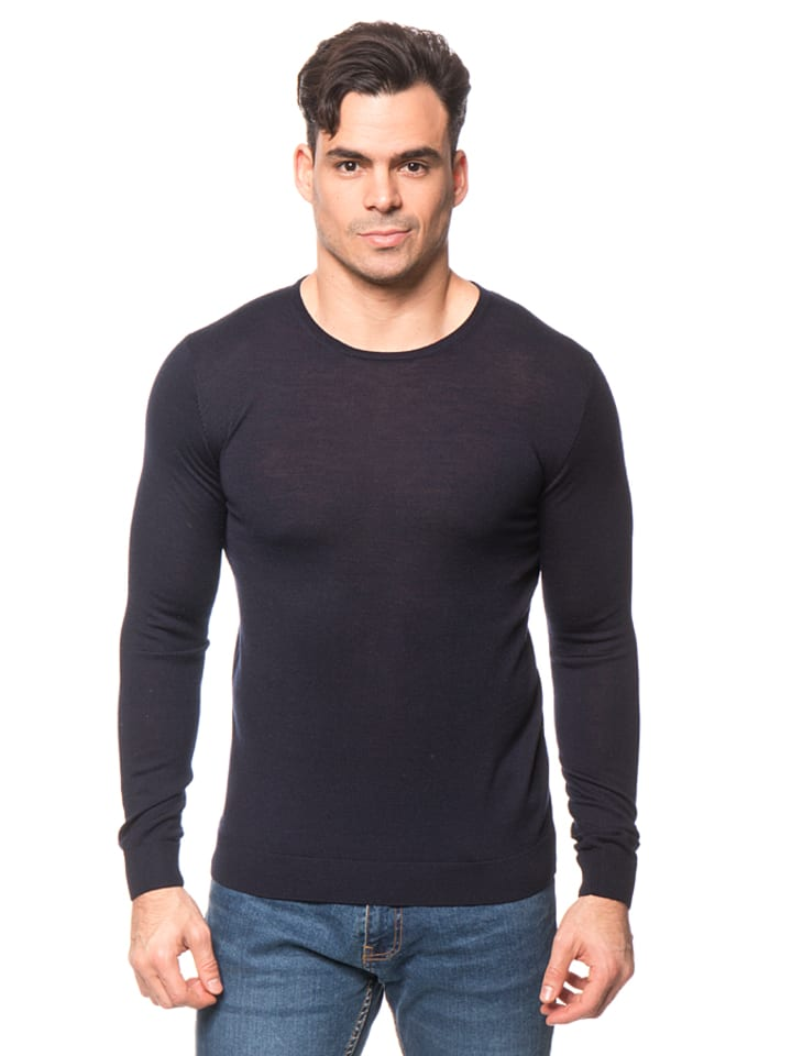 Tom Tailor Pullover in Dunkelblau