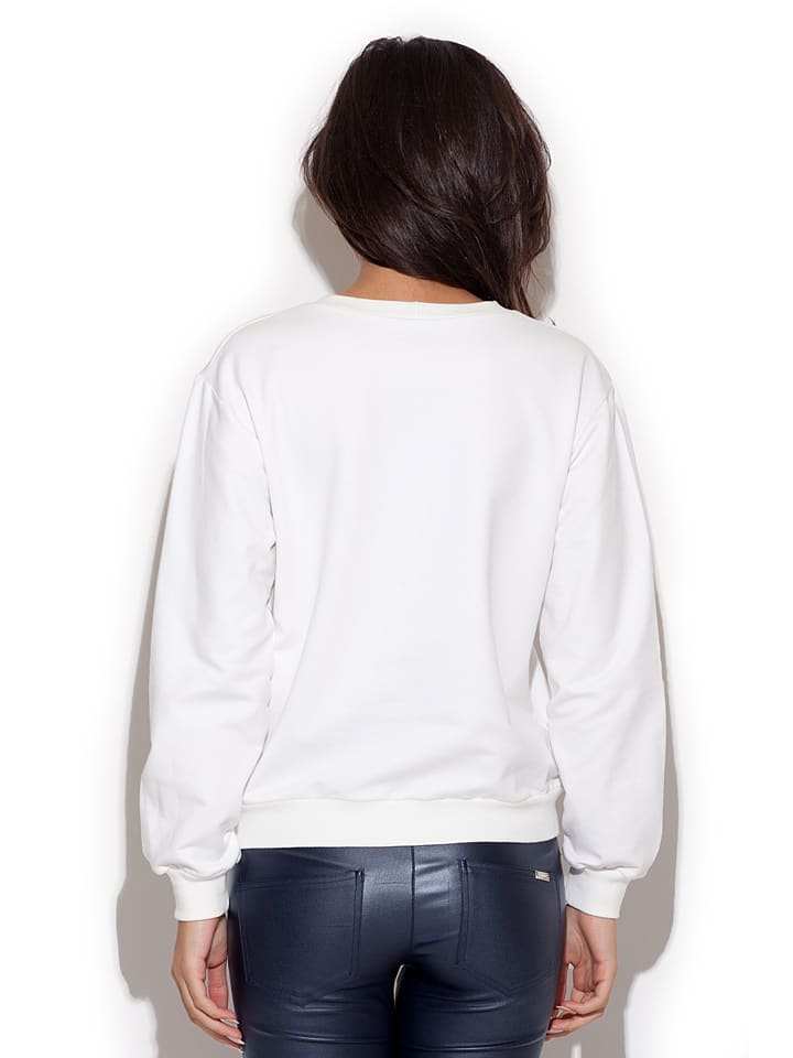 Katrus Sweatshirt in Creme