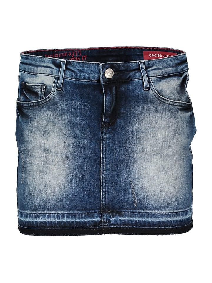 "Cross Jeans Jeansrock ""Anna"" in Blau"