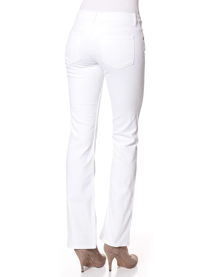 """Cross Jeans Jeans """"Candice"""" - Regular fit - in Weiß"""