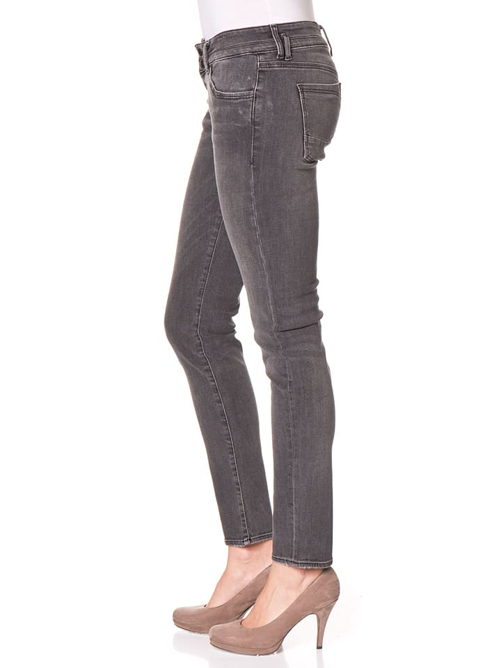 "Cross Jeans Jeans ""Adriana"" - Skinny fit - in Grau"