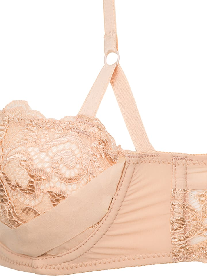 "Sapph Balconette-BH ""Viviane"" in Nude"