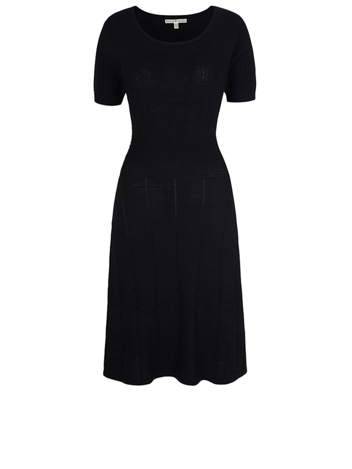 Uttam Boutique Kleid in Schwarz