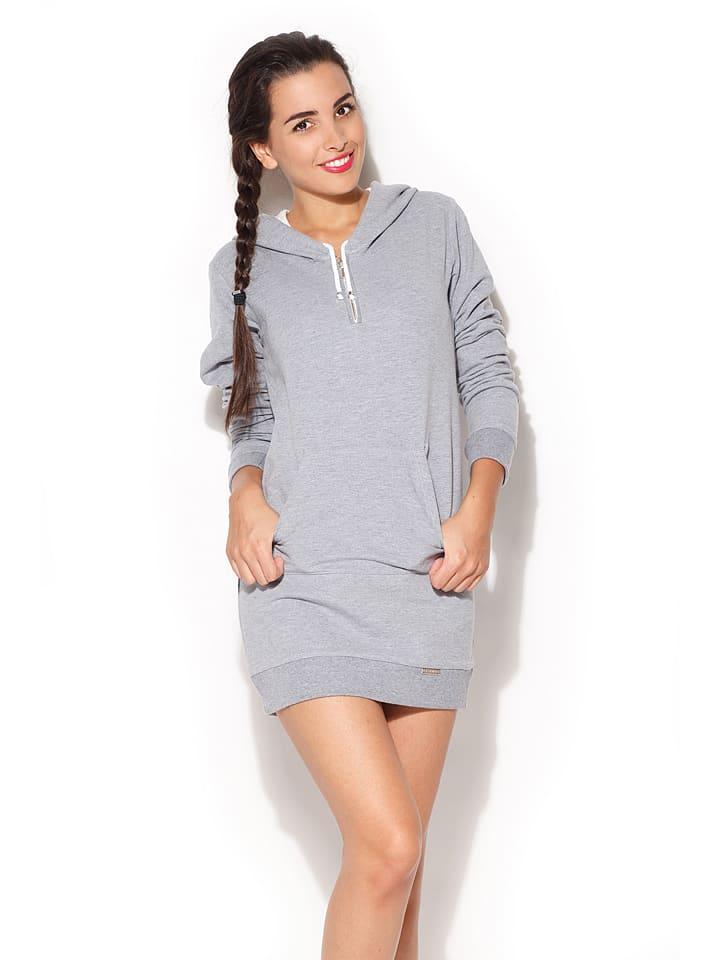 Katrus Kleid in Grau