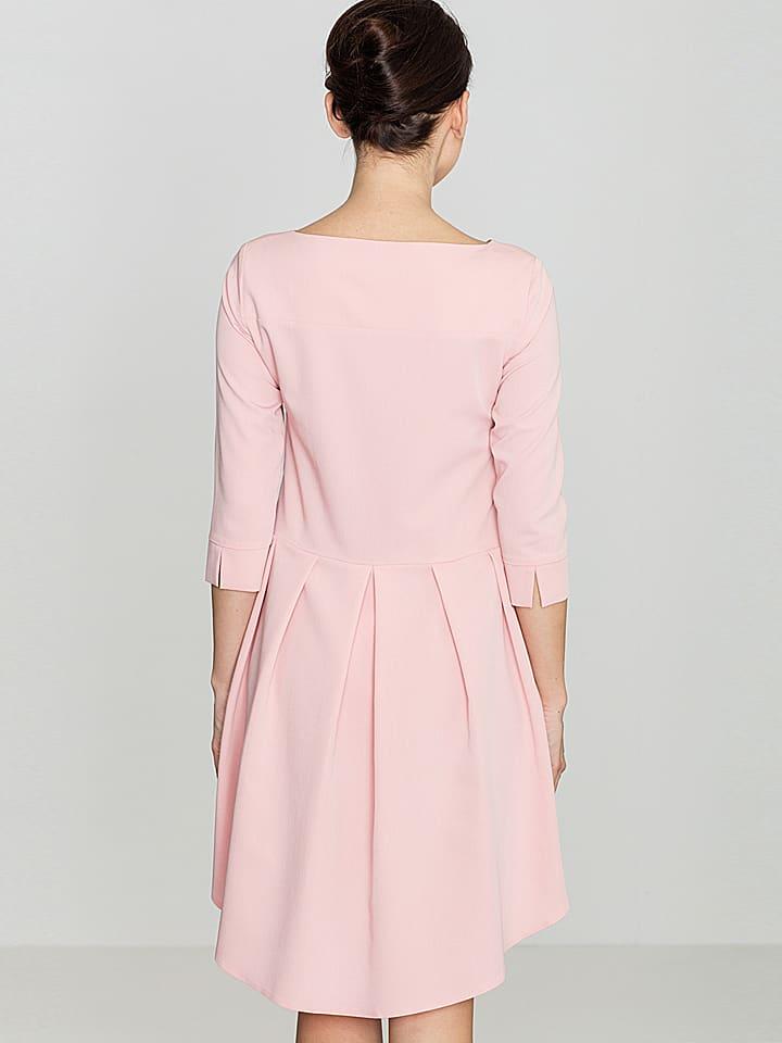 Kobiecy szyk Kobiecy szyk Kurze Kleider  in rosa