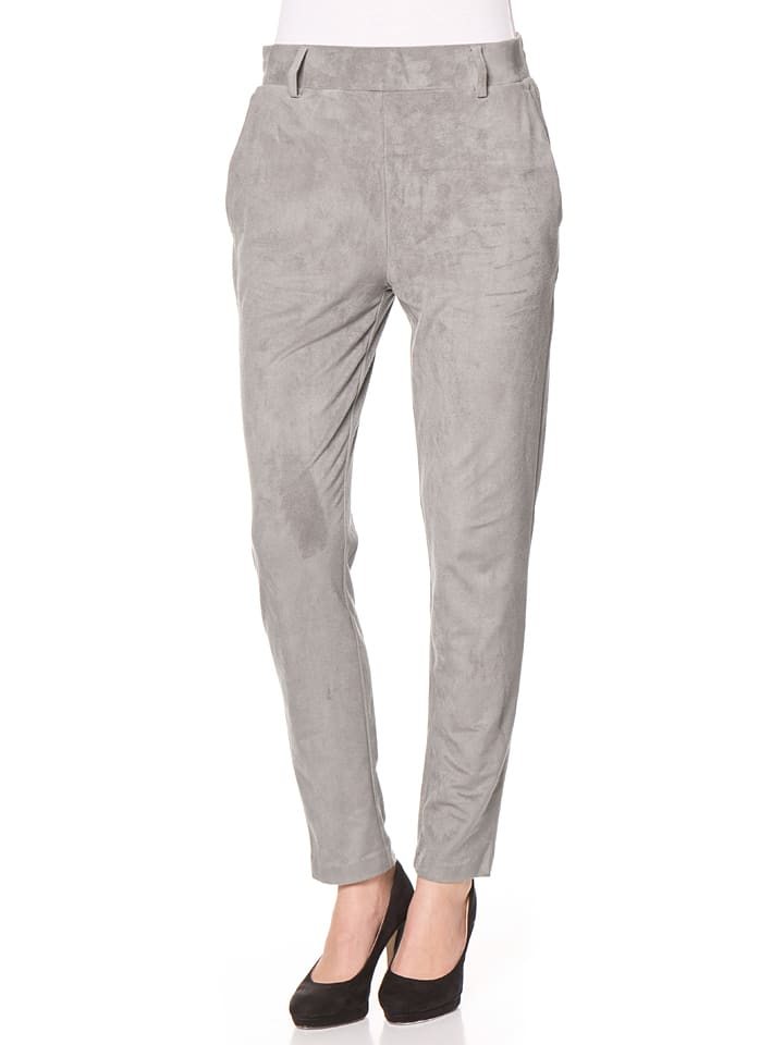 Tom Tailor Spodnie w kolorze szarym