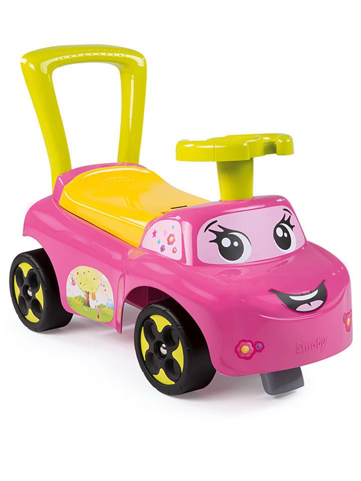 """Smoby Rutscherfahrzeug """"Mein erstes Auto"""" in Pink - ab 10 Monaten"""