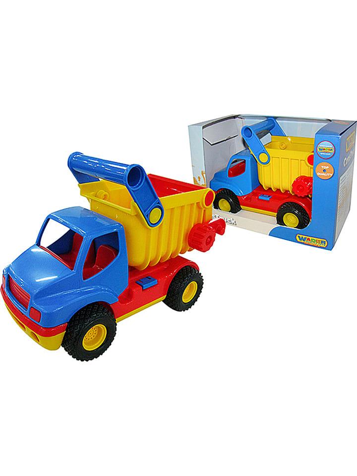 """WADER Quality Toys Kiepwagen """"ConsTruck"""" - vanaf 12 maanden"""