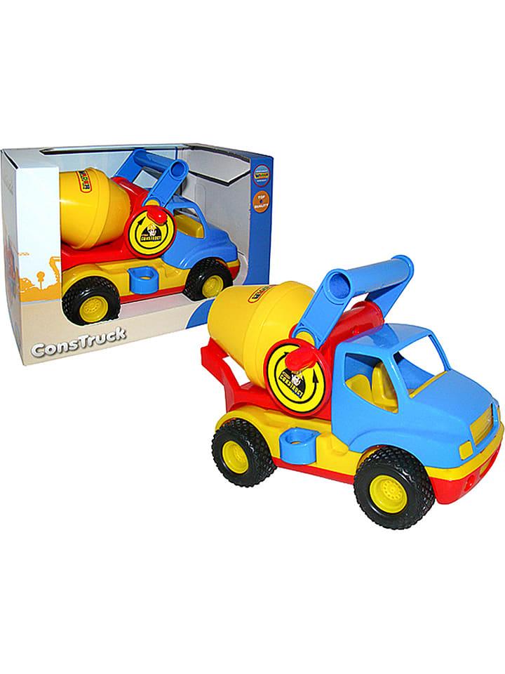 """WADER Quality Toys Betonmixer """"ConsTruck"""" - vanaf 12 maanden"""