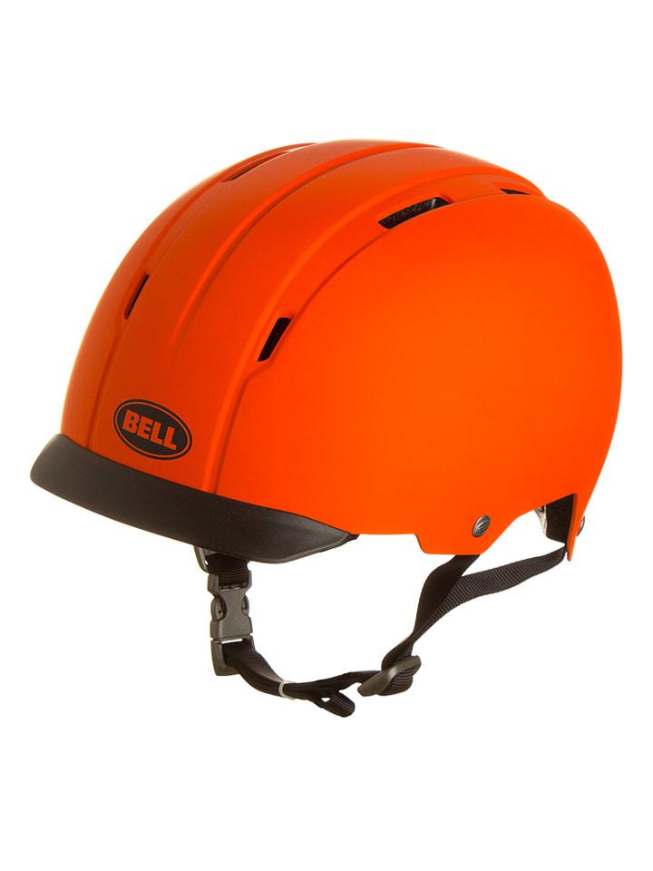"""Bell Kask rowerowy Bell """"Intersect 14"""" w kolorze pomarańczowym"""