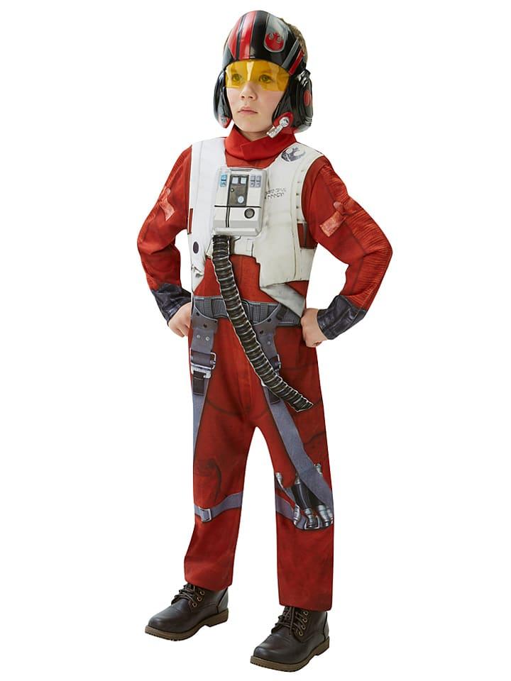 Rubie`s 2-częściowy kostium Rubie`s w kolorze czerwono-szaro-białym