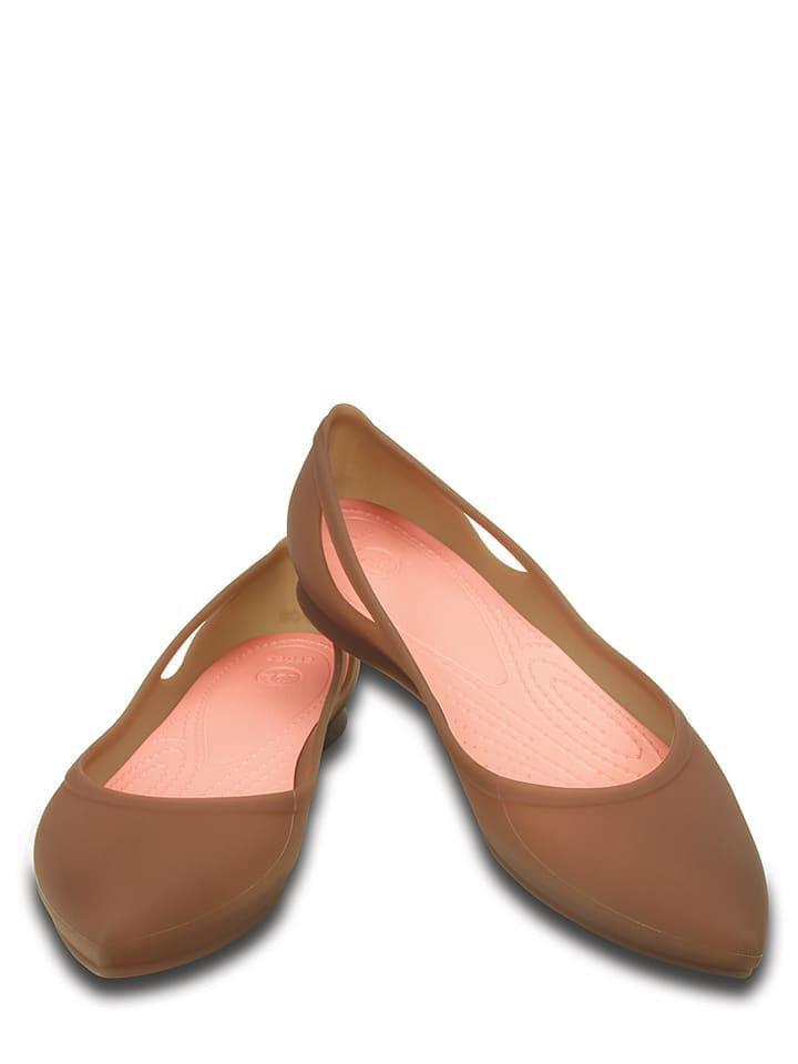 "Crocs Ballerinas ""Rio in Hellbraun"