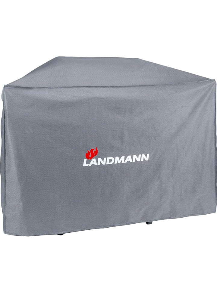 """Landmann Wetterschutzhaube """"Premium"""" in Schwarz - (B)145 x (H)120 x (T)60 cm"""
