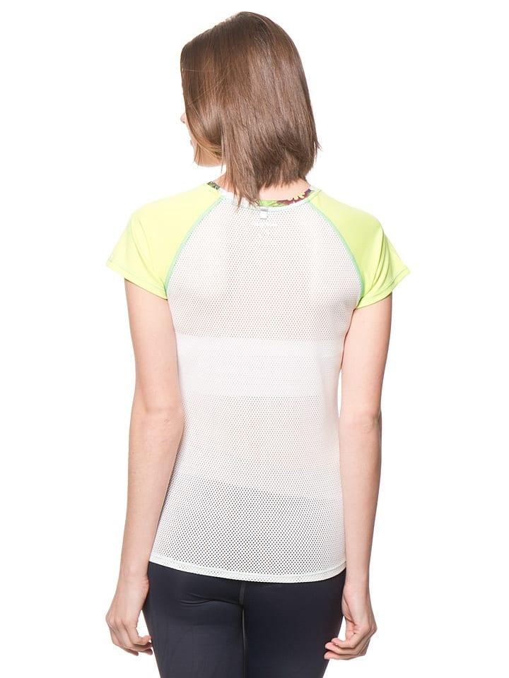 Desigual Sport Shirt in Weiß/ Bunt