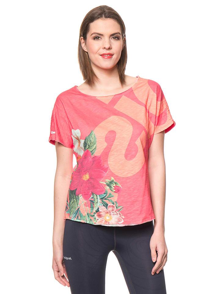 Desigual Sport Shirt Pink