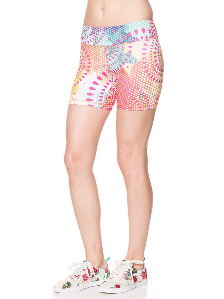 Desigual Sport Shorts in Rosa/ Bunt