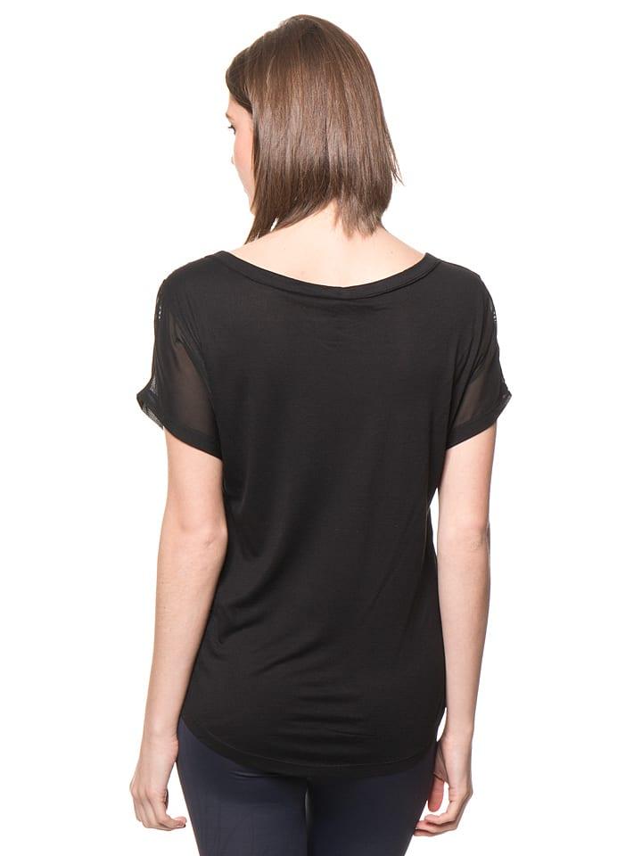 Desigual Sport Shirt in Schwarz