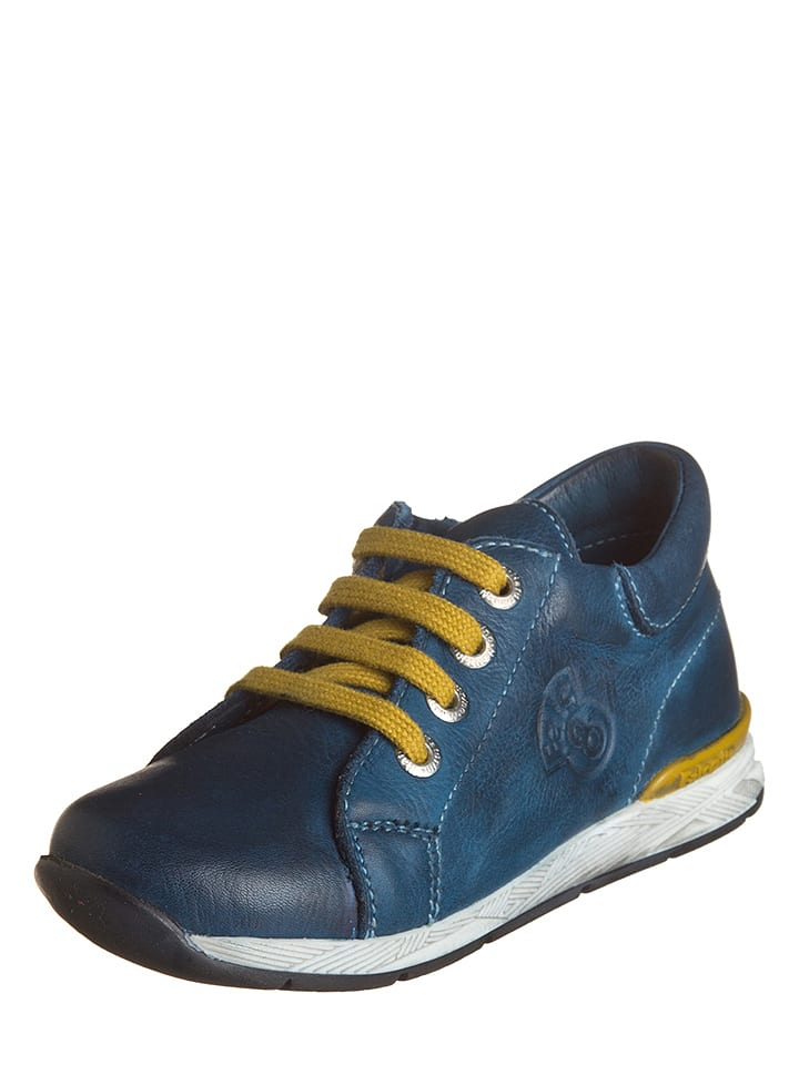 Naturino Leder-Sneakers in Blau