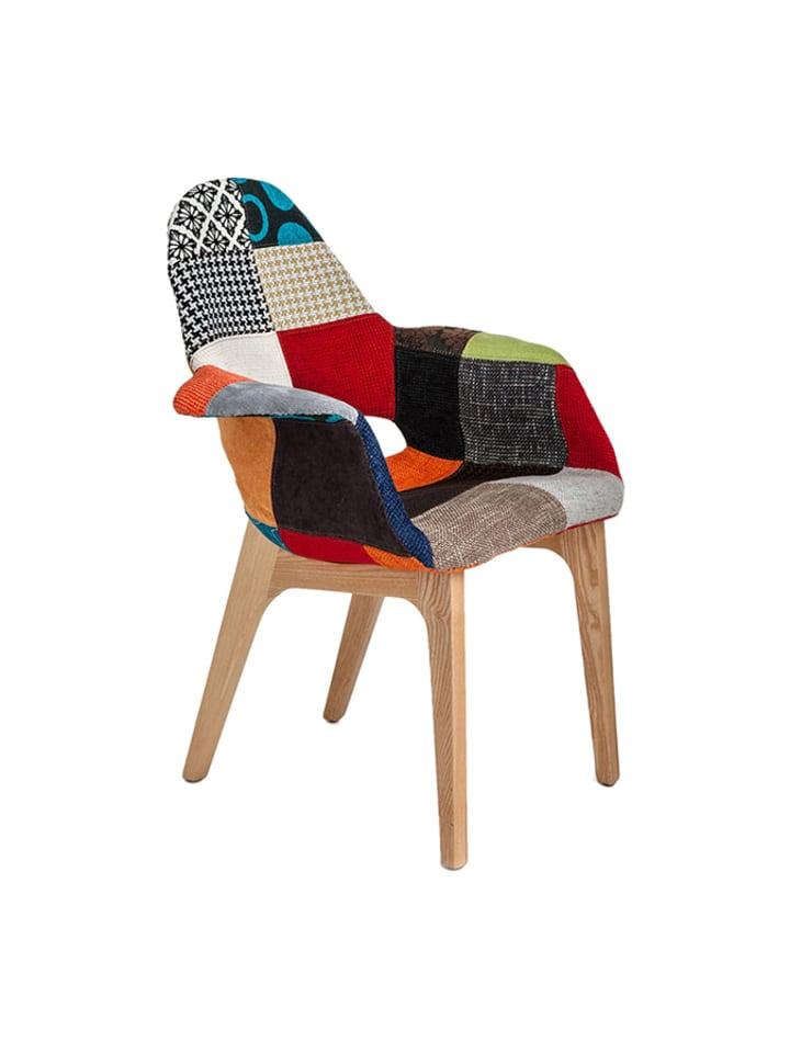 Tomasucci Kolorowe krzesło z oparciem
