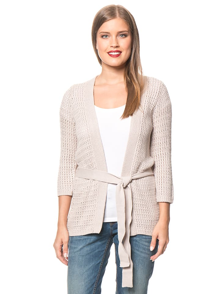 Tom Tailor Cardigan in Beige