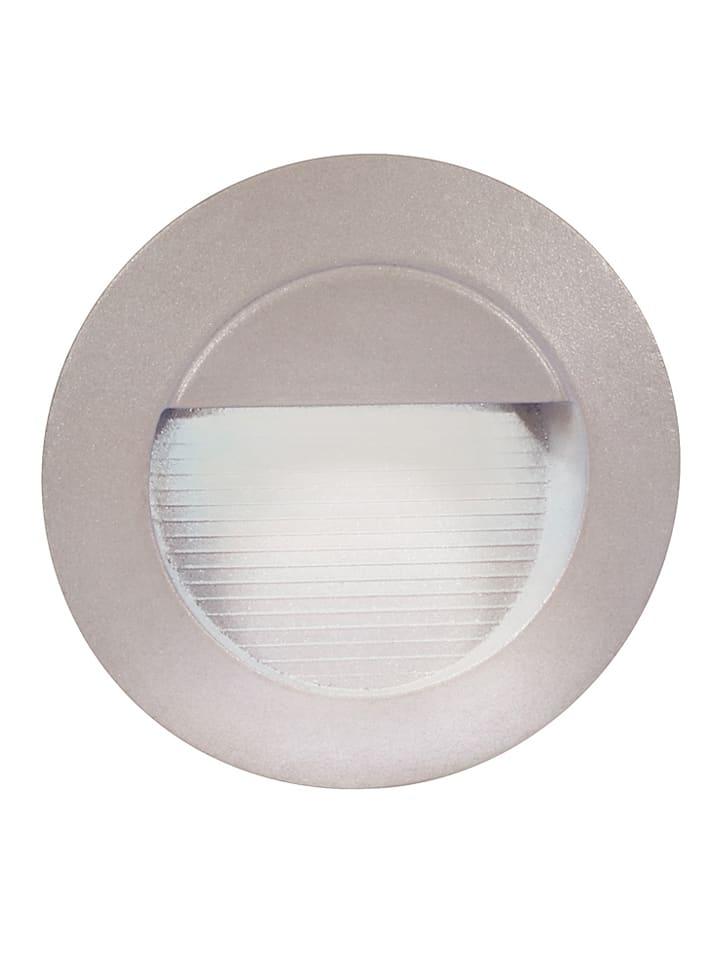 Näve LED-inbouwwandlamp grijs - energieklasse A - Ø13 cm