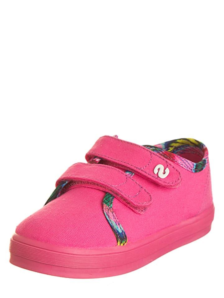 Desigual Sneakersy w kolorze różowym