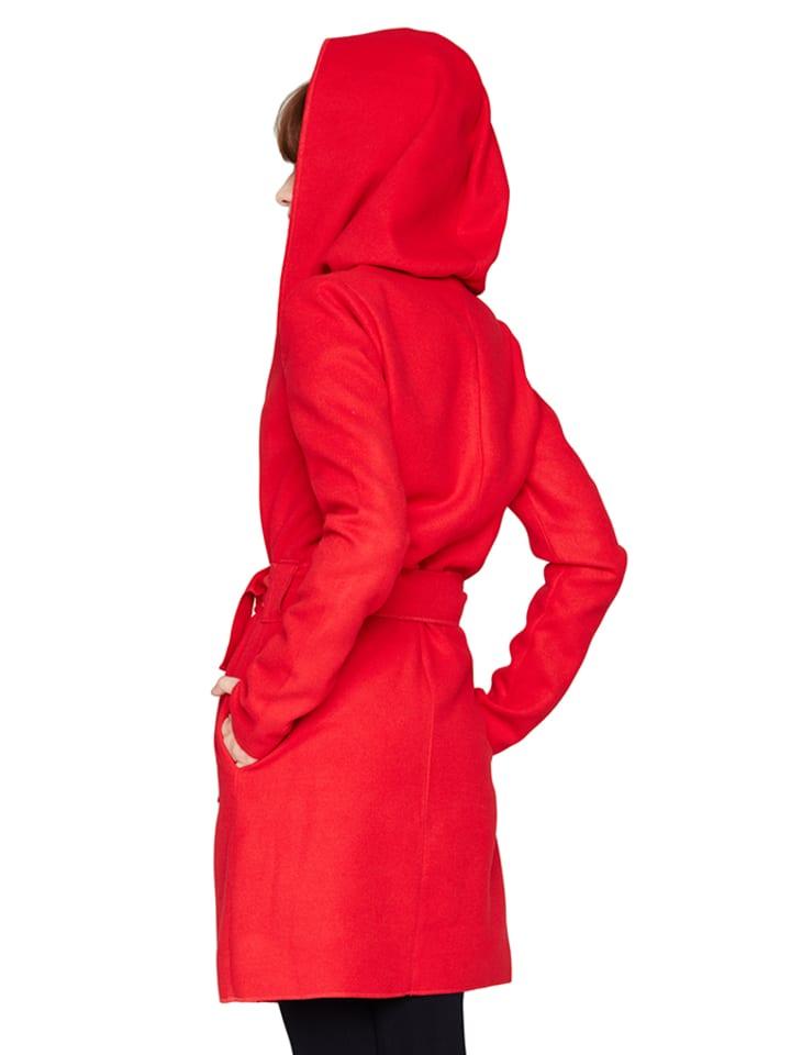 Peperuna Mantel in Rot