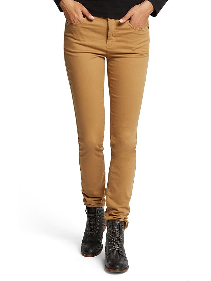 "H.I.S Jeans ""Marylin"" - Comfort fit - in Camel"