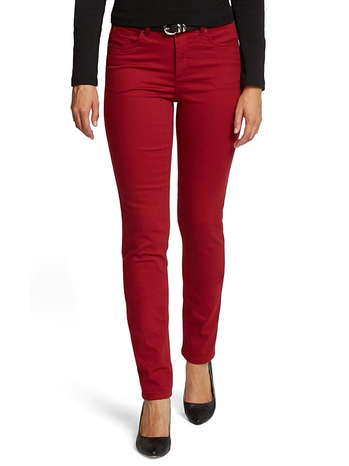 "H.I.S Jeans ""Marylin"" - Comfort fit - in Rot"