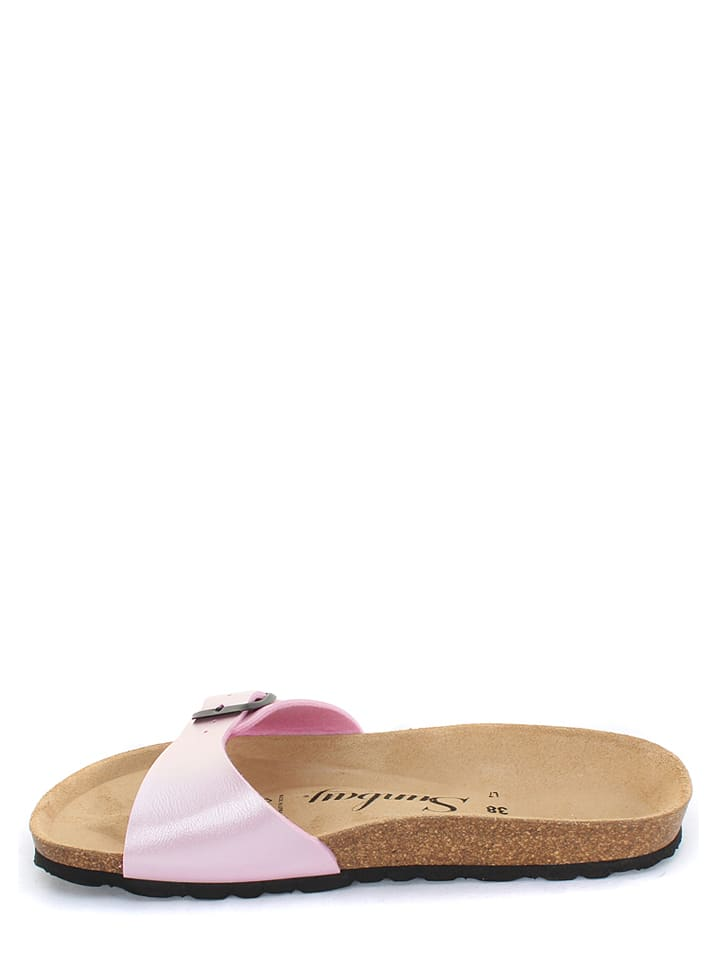 Sunbay Pantoletten in Rosa