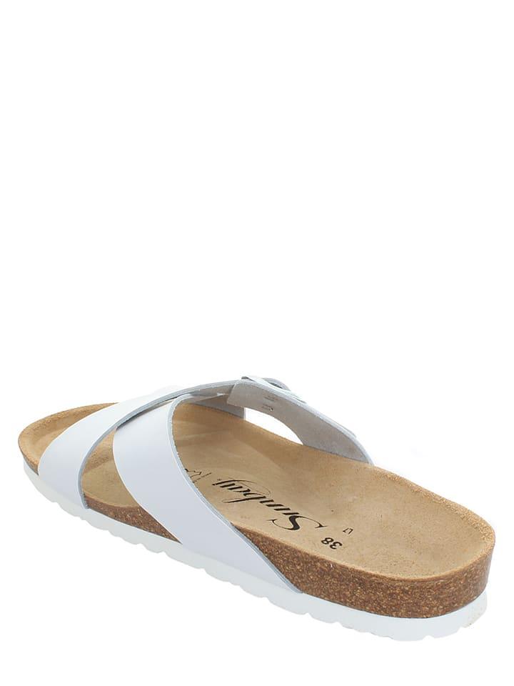 Sunbay Pantoletten in Weiß