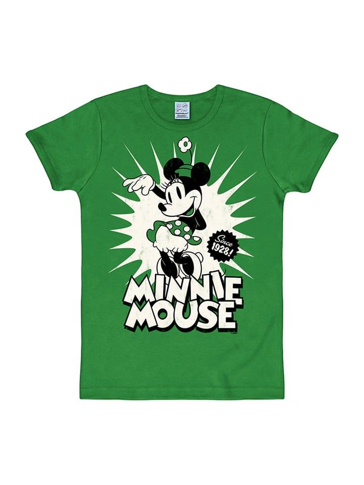 "Logoshirt Shirt ""Minnie Mouse"" in Grün"