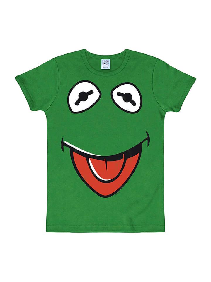 "Logoshirt Shirt ""Kermit Face"" in Grün"