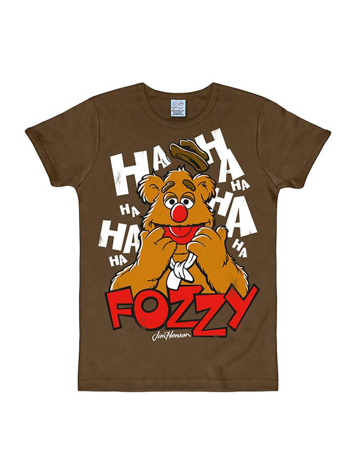 "Logoshirt Shirt ""Fozzy"" in Braun"