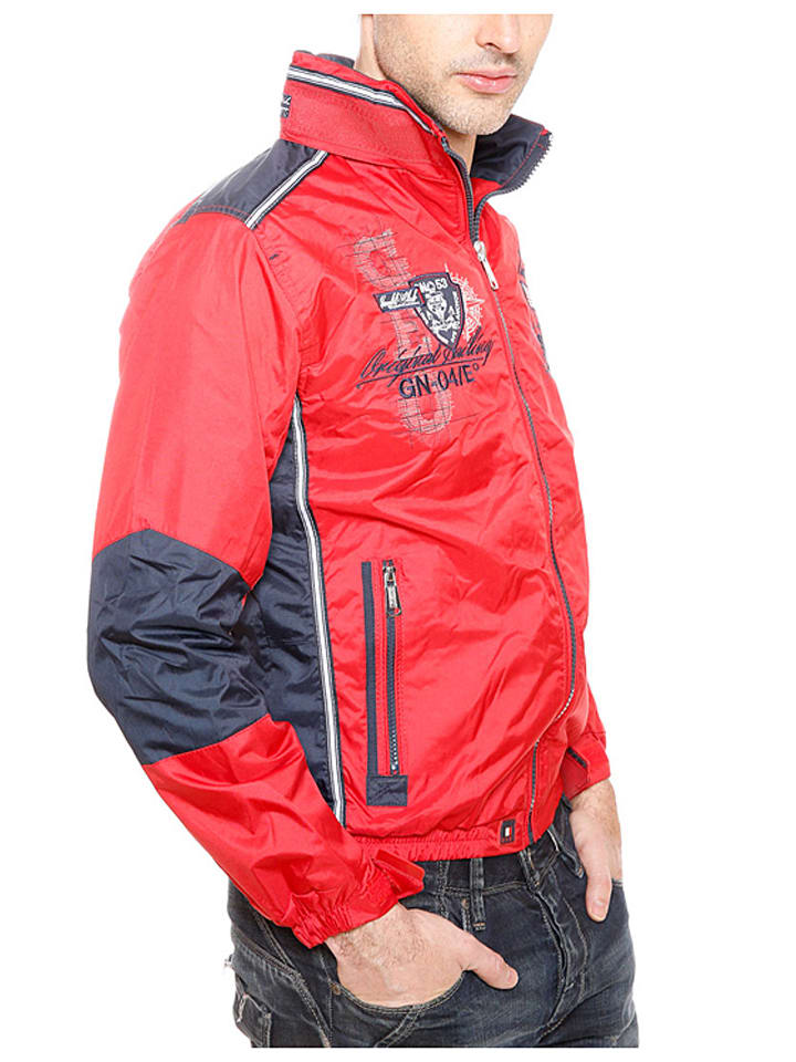 "Geographical Norway Übergangsjacke ""Chrome"" in Rot"