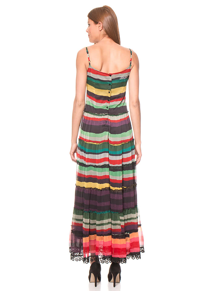 Desigual Kleid Doll in Bunt